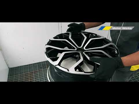 Automated Diamond Cut - Alloy Wheel Repair Machine