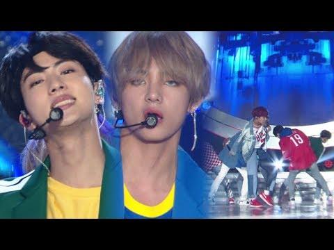《POWERFUL》 BTS - MIC Drop @Inkigayo 20171001