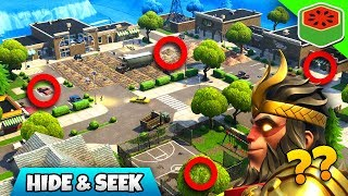 HIDE AND SEEK - BEST MINI GAME! | Fortnite Battle Royale