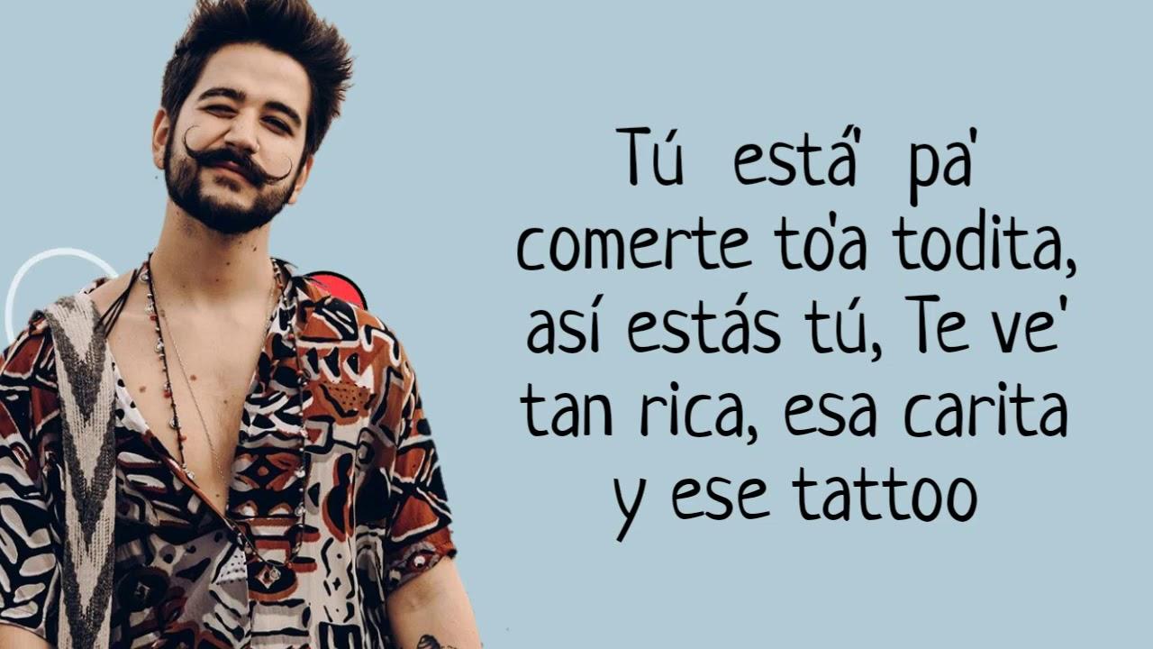 Rauw Alejandro Camilo Tattoo Remix Letra Lyrics Youtube Camilo & rauw alejandro tú 'tás pa' comerte toda, toíta', así estás tú te ves tan. rauw alejandro camilo tattoo remix letra lyrics