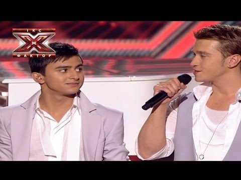 Two voices - When I was your man - Bruno Mars - Второй прямой эфир - Х-фактор 4 - 02.11.2013
