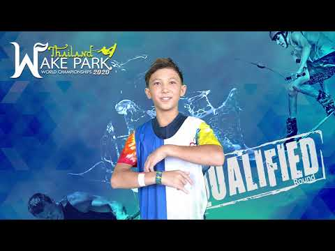 Nicholas Stoneking - Boys Under 13 yo Wakeboard