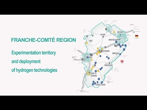 Franche-Comté region, experimentation territory and deployment of hydrogen technologies