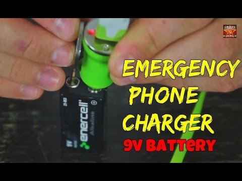 How to Charge Your Phone with 9v Battery!