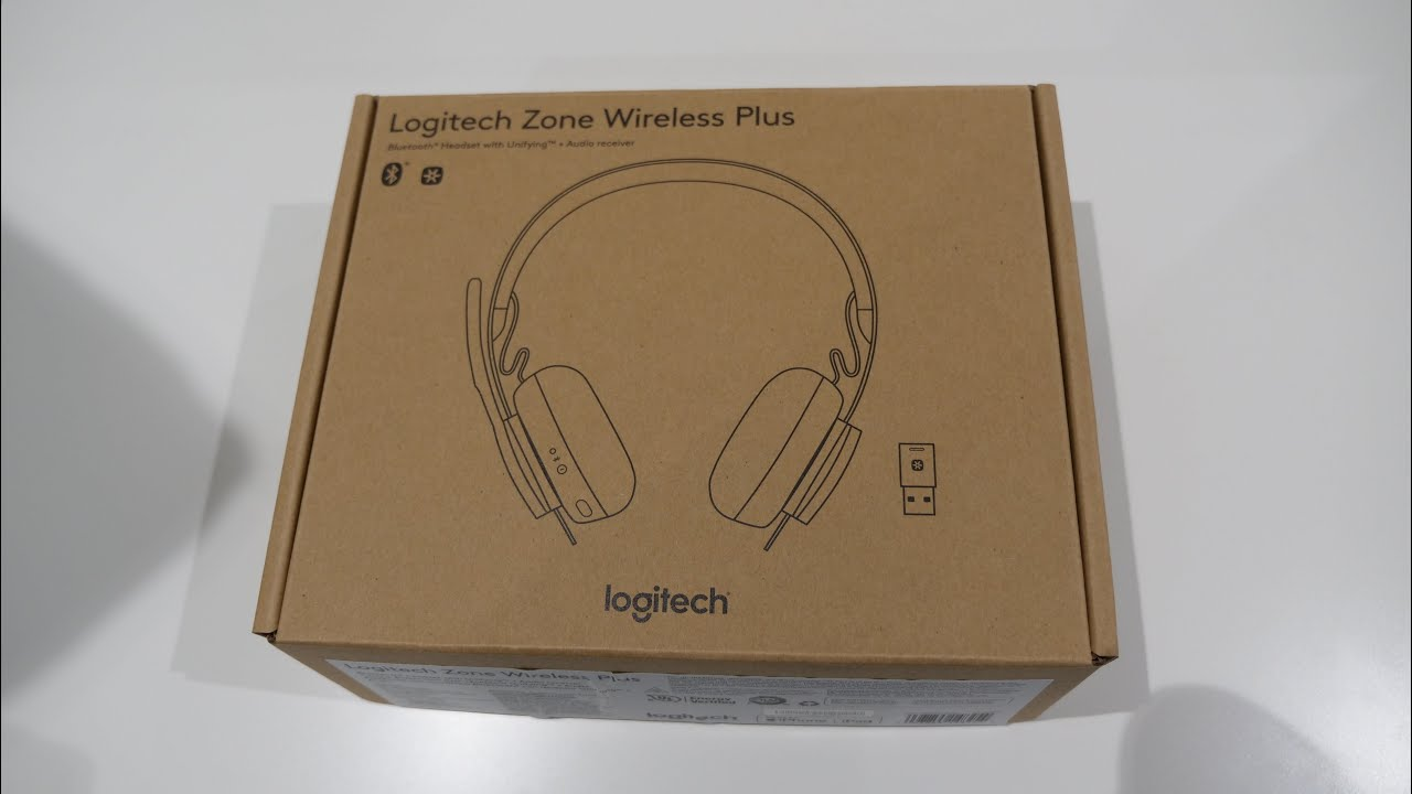 Logitech Zone Wireless Plus Unboxing Youtube