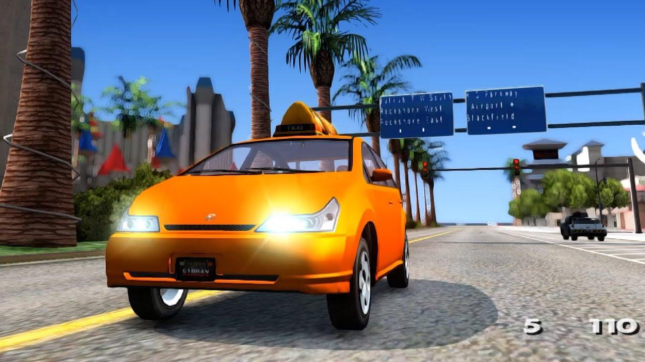 Karin Dilettante Taxi - GTA San Andreas - YouTube