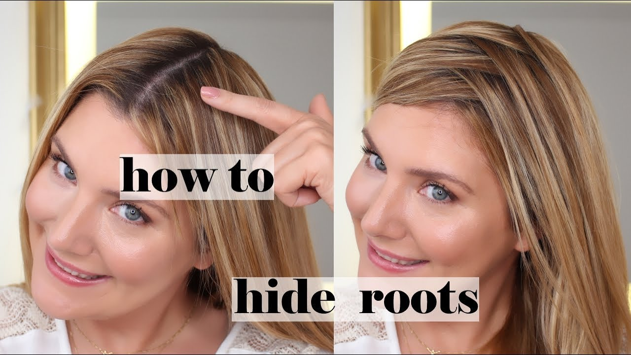 How I Touch Up My Gray Roots and Cover Up Hair Patches - Color WOW Review