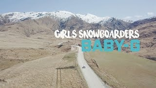 CASIO GIRLS SNOWBOARDERS with BABY-G 岩垂かれん 検索動画 13