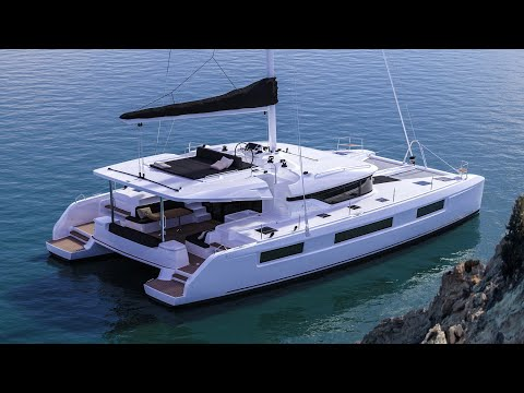 Lagoon 50 catamaran Walkthrough at Cannes 2017