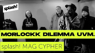 splash! Mag Cypher #4 [Morlockk Dilemma, Tierstar, Mortis One, Der Plusmacher]