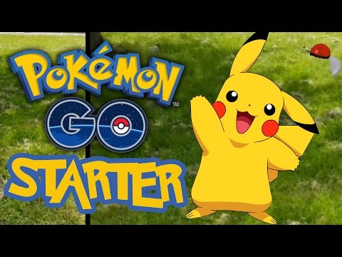 Pokemon Go Secret Easter Egg - HOW TO MAKE PIKACHU A STARTING POKEMON