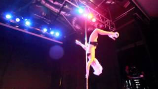 Amber Ray Miss Pole Dance NSW Winner