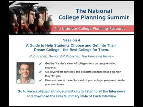 Session 4 - A Guide to Help Students Choose and Get into Their  Dream College