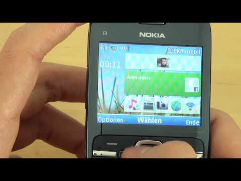 Nokia C3 Test Bedienung