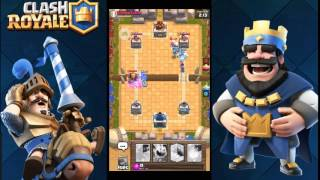 HOW TO GET TO LEGENDARY ARENA IN CLASH ROYALE (Clash Royale deck)