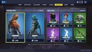 *NEW* Insight & Longshot Skins - December 16th Fortnite Daily Item Shop