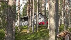 Kylmäluoman retkeilyalue Taivalkoski mökkikylä- Ahven mökki
