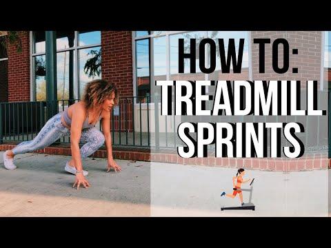 EASIEST HIIT CARDIO | Treadmill Sprints