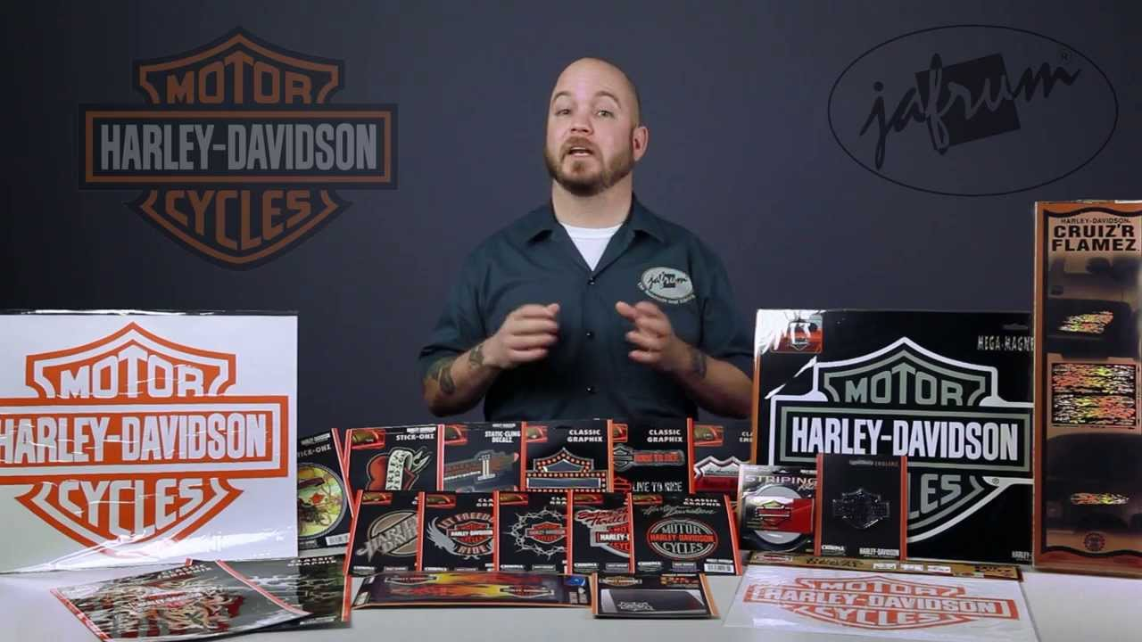 Harley davidson stickers decals and more available at jafrum com youtube