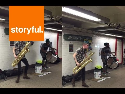 New York Buskers Rule Union Square (Storyful, Inspiring)