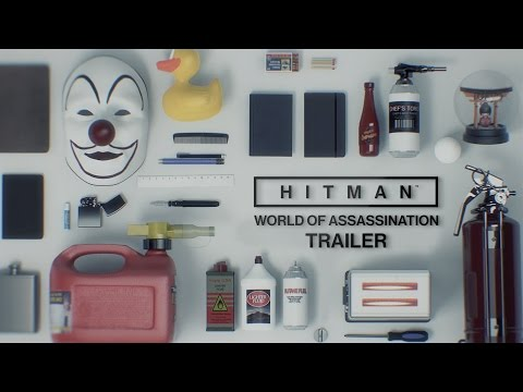 HITMAN - World of Assassination Trailer