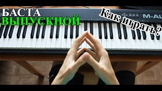 NikitaSXB | Баста - Выпускной [Tutorial Piano]