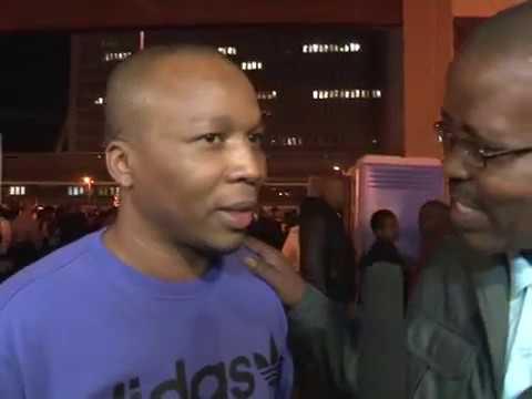 Amaza Ntshanga at the jazz fest