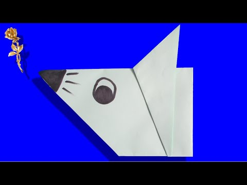 Origami facile t te de souris youtube - Video d origami facile ...