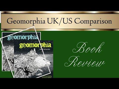 Geomorphia UK & US | Book Review & Comparison