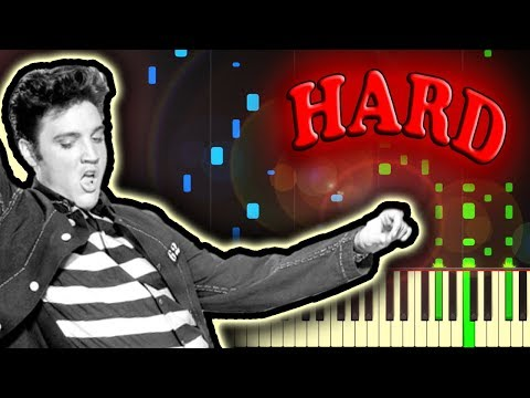 ELVIS - JAILHOUSE ROCK - Piano Tutorial