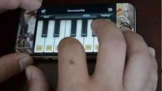 Pehla nasha piano in iphone.