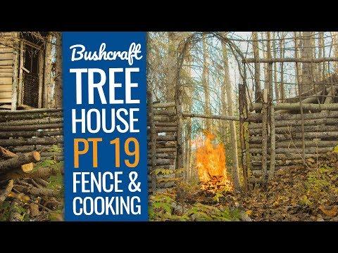 Bushcraft Treehouse 19: Update at the Bushcraft Camp Shelter!