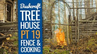 Bushcraft Treehouse 19: Update at the Bushcraft Camp Shelter!