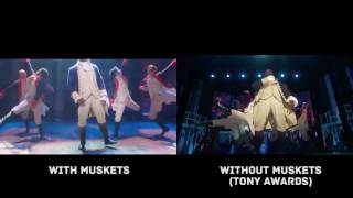 "Hamilton Performing ""Yorktown"" With and Without Muskets"
