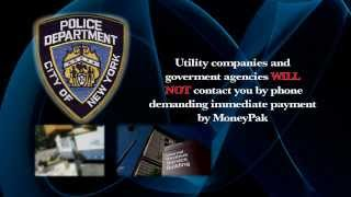 NYPD Crime Prevention Tip - Money Card Scam