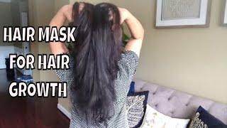 HAIR MASK FOR HAIR GROWTH & STOP HAIR FALL ||  Ami's Lifestyle