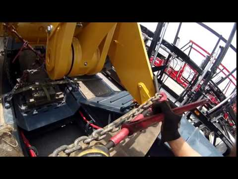 HEAVY HAUL TV: How To Tie Down A Cat
