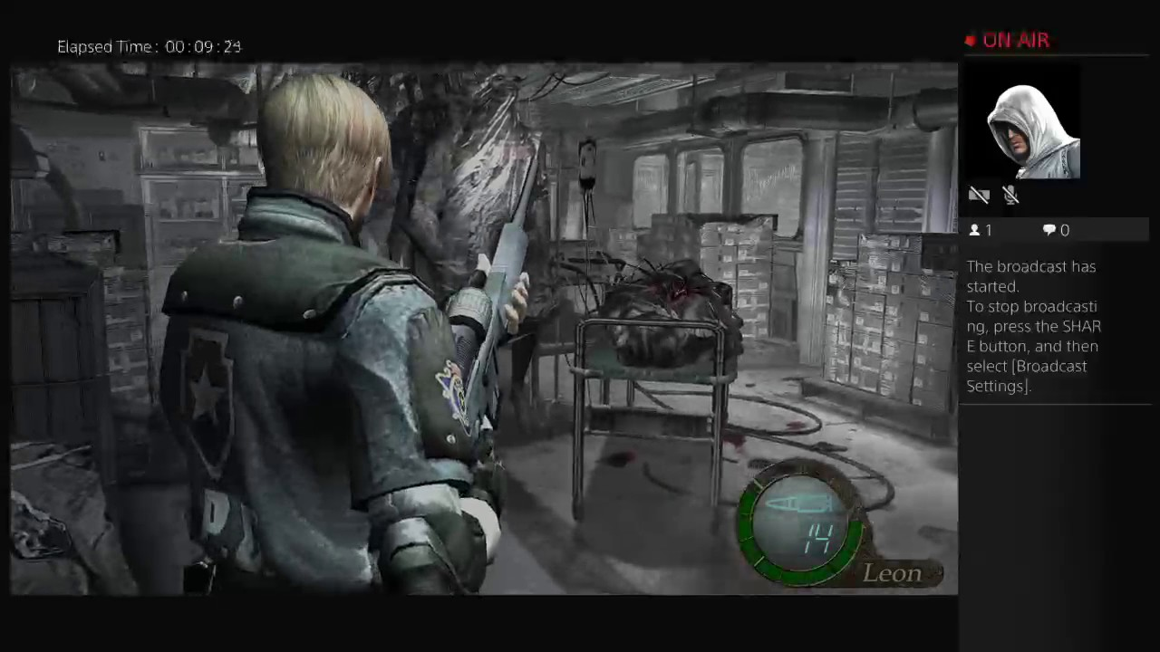 Resident Evil 4 On Ps4 Pro Pro Mode Youtube
