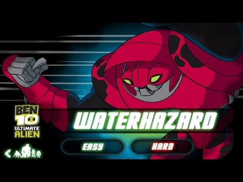 Ben 10 Galactic Challenge Waterhazard Ben 10 Games