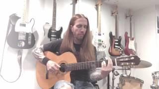 Sleepwalk- Acoustic Guitar Cover