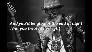 Billy Gibbons - Treat Her Right (with lyrics)
