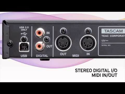 Tascam US1800 8-Channel Audio/MIDI Interface USB 2.0, 16in/4out Overview | Full Compass