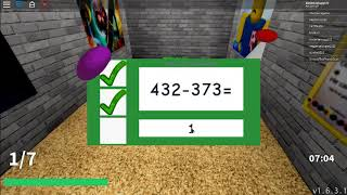 baldi's the basics education and learning in roblox so fun