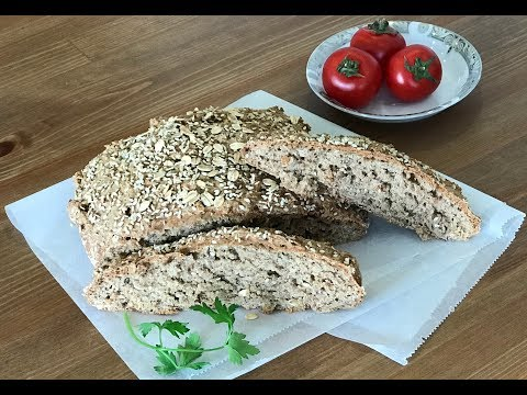 How to Make Whole Wheat Bran Bread | Healthy&Tasty
