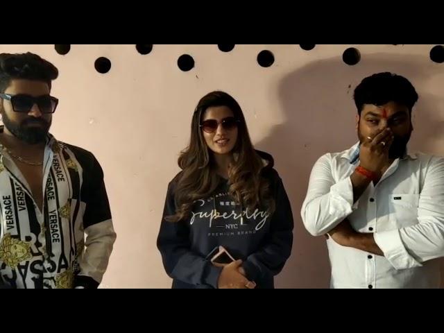 अक्षरा सिंह के साथ आशीष वर्मा ने शुरू की अपनी फिल्म की शूटिंग || भोजपुरी अड्डा || #bhojpuriadda