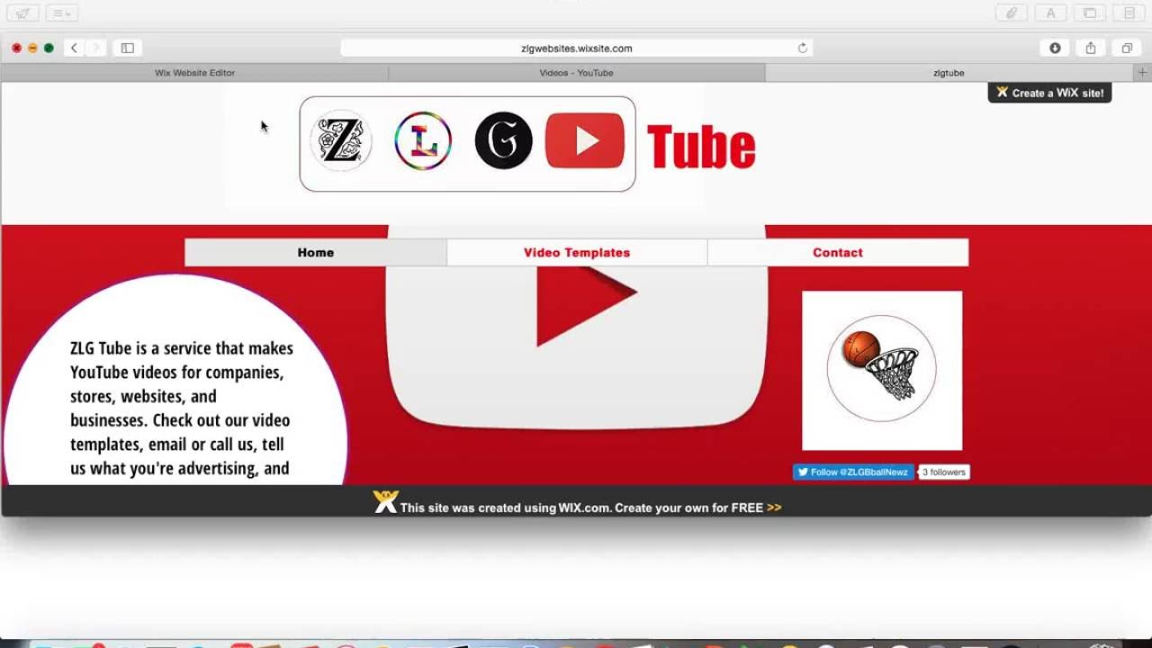 Website Review Desktop Mode Template Youtube