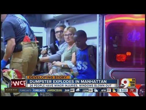 Manhattan explosion: 29 people hurt in blast in New York City's Chelsea neighborhood