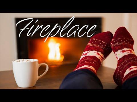Relaxing JAZZ & Fireplace - Stress Relief JAZZ & Bossa Nova - Chill Out Music