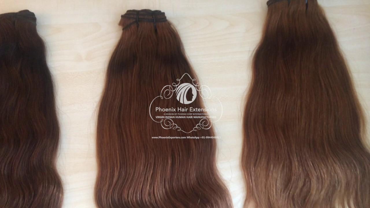 Virgin Human Hair Manufactures Indian Temple Hair Phoenix Hair