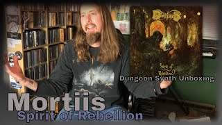 Mortiis - Spirit of Rebellion unboxing: The Inner Sanctum: A Dark Ambient Vlog Episode 19